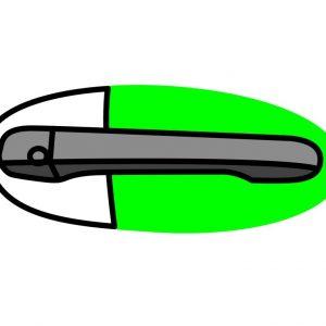 Licbuy Lackschutz Griffschlle rund