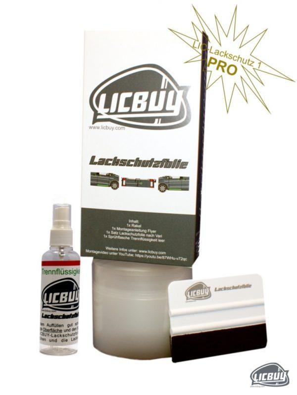Licbuy Lackschutz PRO Set übersicht komplett