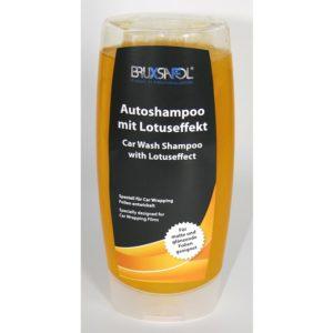 Autoshampoo mit Lotuseffekt speziell für Car Wrapping Folien und Lacke Licbuy.com