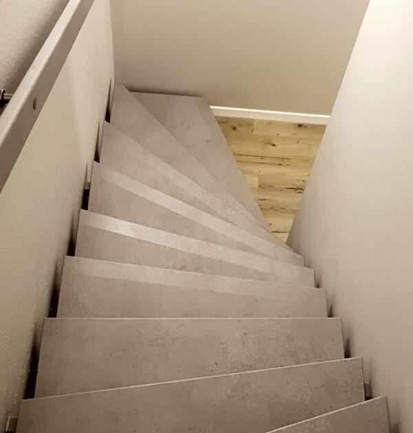 Kantenschutz und R9 Rutschschutz für Treppen innen - aussen alles