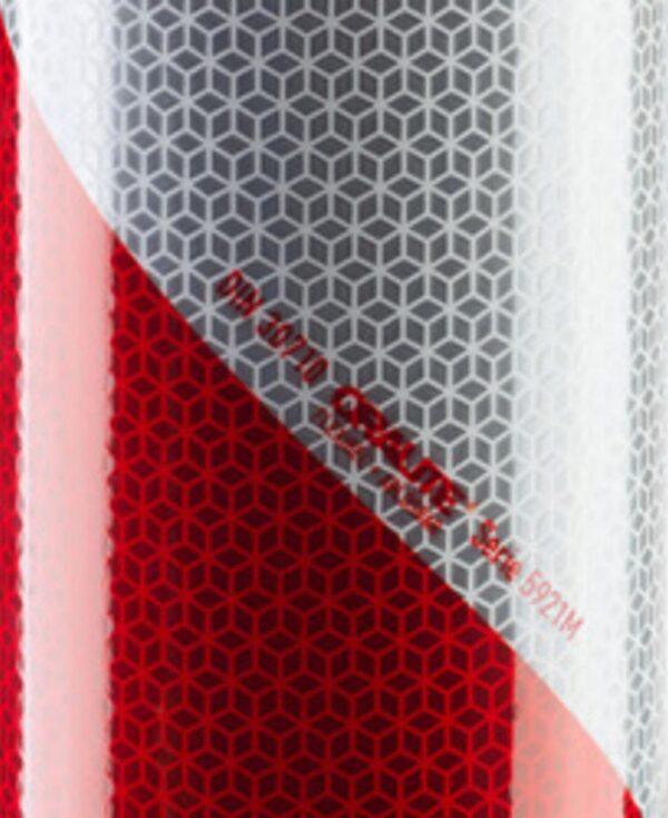 SET rot – weiß Warnmarkierung nach DIN 30710 und TPESC