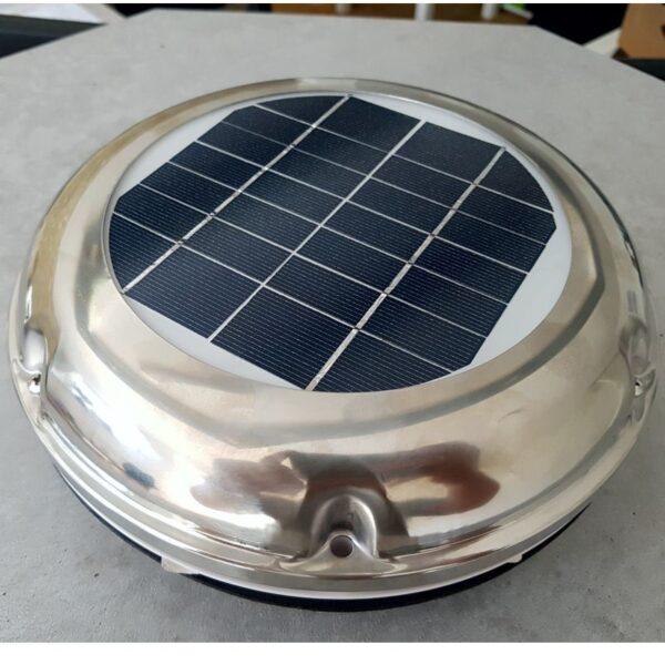 Edelstahl Solarlüfter Dachlüfter Bootlüfter Womolüfter Bürstenloser Motor 102 m³/h