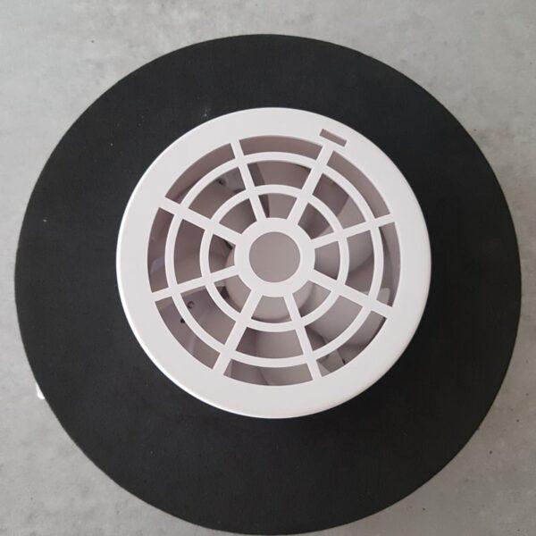 delstahl Solarlüfter Dachlüfter Bootlüfter Womolüfter Bürstenloser Motor 102 m³/h