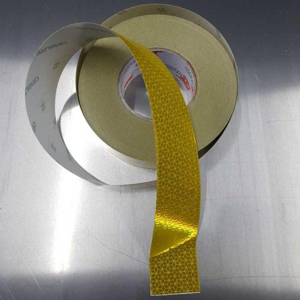 Reflektierend gelb Konturmarkierung nach ECE 104 Klasse C – VC 104+