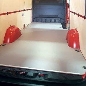 Holz Fahrzeugboden grau oder braun